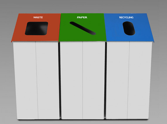 Trash Cans (Multi Color)