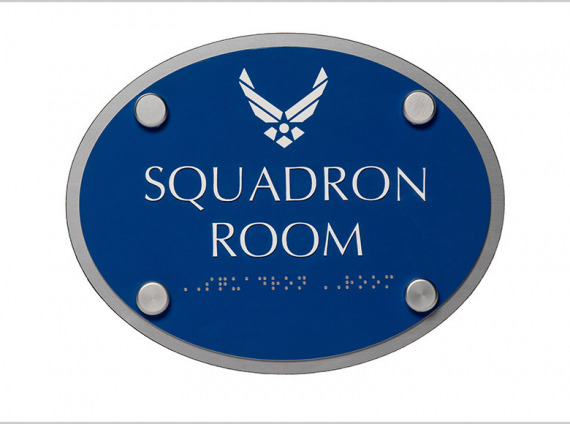 Conference Room ID (with Braille)