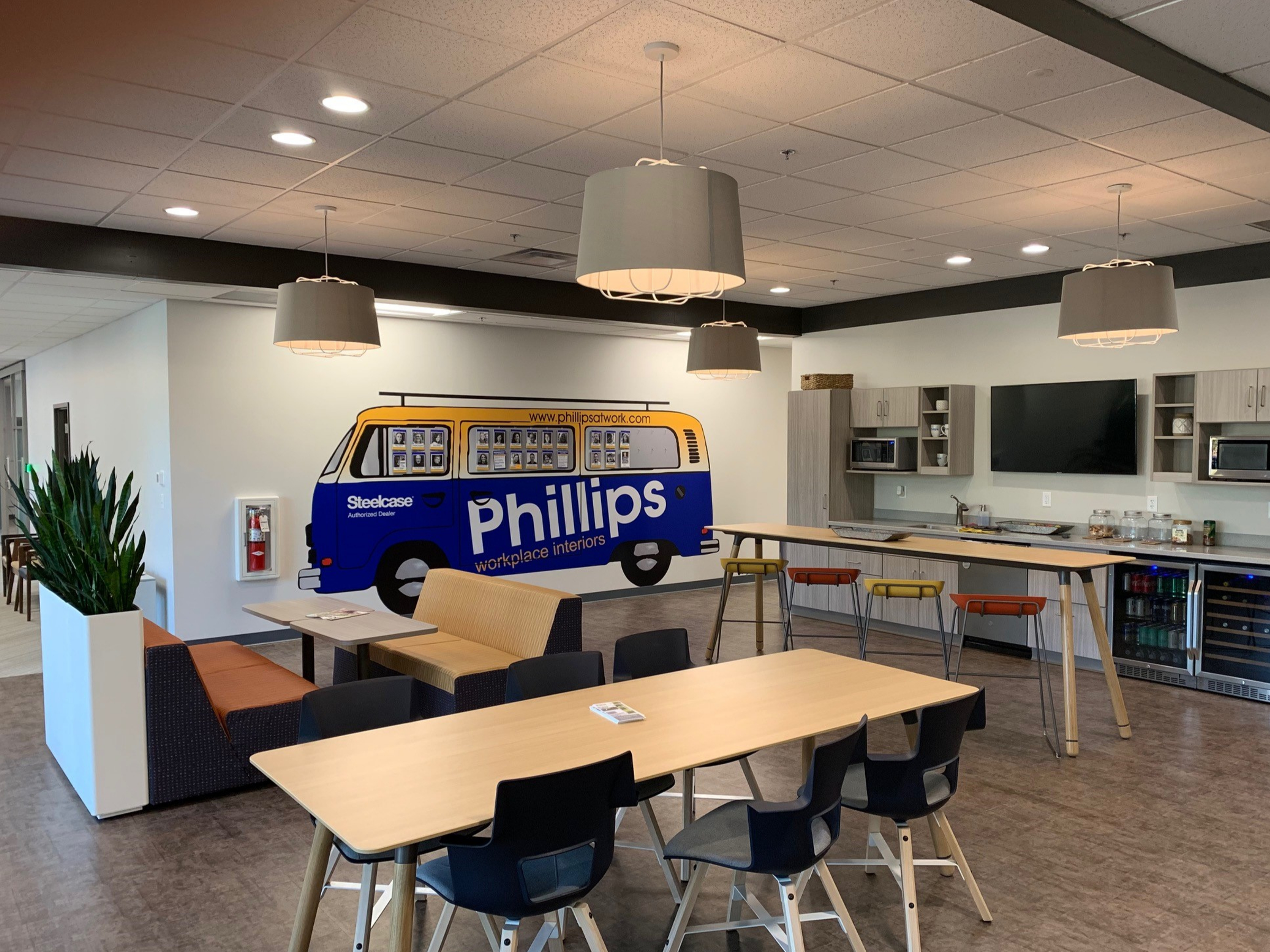 Phillips Workplace Interiors located in Harrisburg, PA